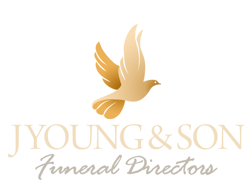 j young and son funeral directors doncaster logo